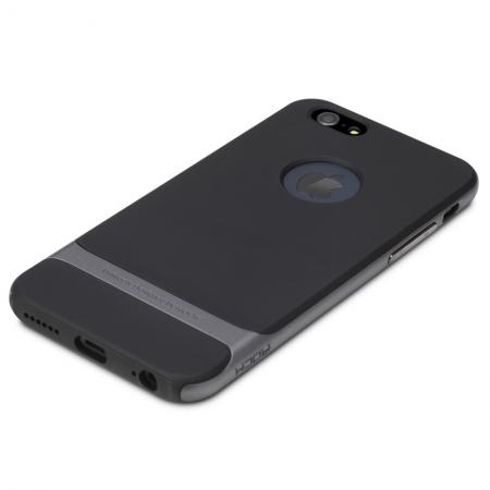 """Силиконовый чехол Rock Royce Series для Apple iPhone 6/6S Plus (5.5"""") - черно-серый"""