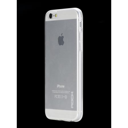 """Силиконовый чехол Rock Slim Jacket для Apple iPhone 6/6S Plus (5.5"""") - прозрачный"""