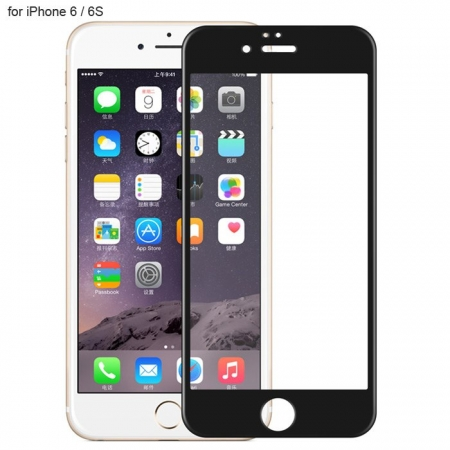 Защитное стекло на экран Rock tempered glass with Soft Edge 3D 0.2mm для iPhone 6/6S