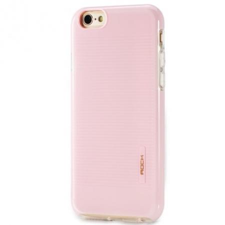 Чехол накладка TPU - PC Rock Jello Series для Apple iPhone 8/7 - розовый