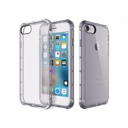 Силиконовый TPU чехол Rock Fence Series для Apple iPhone 8 Plus/7 Plus - прозрачно-черный