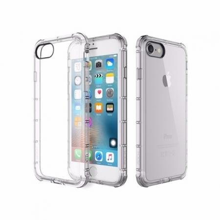 Силиконовый TPU Rock Fence Series для Apple iPhone 8/7 - прозрачный