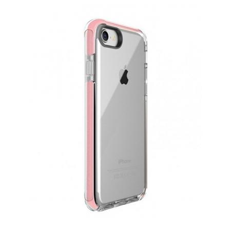Чехол накладка TPU Rock Space Guard G1 Series для Apple iPhone 7/8 - прозрачный, розовый