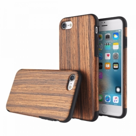 Чехол TPU Rock Origin (Grained) Series для Apple iPhone 8/7 - Rosewood