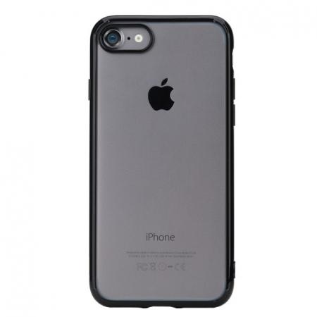 Силиконовый TPU чехол Rock Pure Series для Apple iPhone 8 Plus/7 Plus - прозрачно-черный