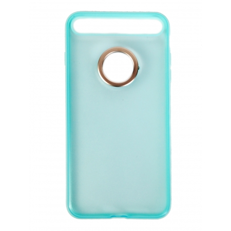 Чехол накладка с кольцом Rock Space Ring Holder Case для Apple iPhone 7 Plus/8 Plus, морской волны