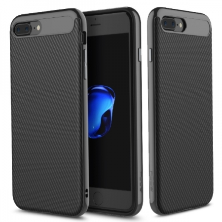 Двухкомпонентный чехол Rock Vision TPU-PC для Apple iPhone 8 Plus/7 Plus - чёрный