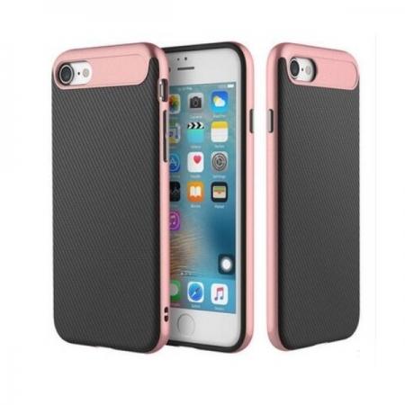 Двухкомпонентный чехол Rock Vision TPU-PC для Apple iPhone 8/7 - розово-золотистый