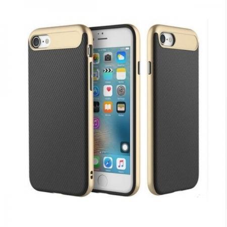 Двухкомпонентный чехол Rock Vision TPU-PC для Apple iPhone 8/7 - золотистый