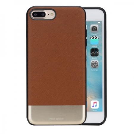Двухкомпонентный чехол Rock Elite TPU-PC для Apple iPhone 8 Plus/7 Plus - коричневый