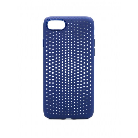Чехол накладка TPU Rock Dot Series для Apple iPhone 7/8, синий