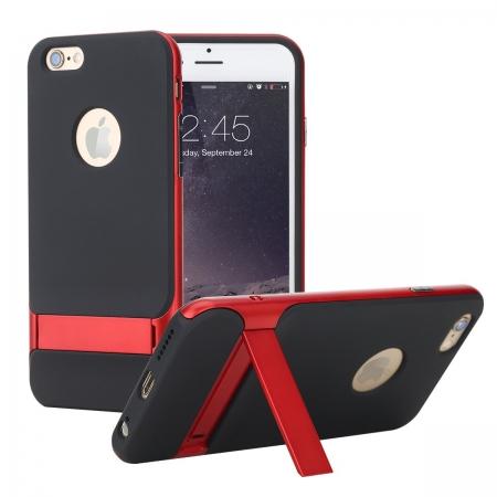 Двухкомпонентный TPU-PC чехол накладка с подставкой Rock Royce with stand Series для iPhone 7/8 - красный