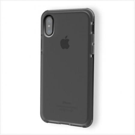 Силиконовый противоударный TPU-TPE чехол Rock Guard Series для Apple iPhone X/XS - чёрный