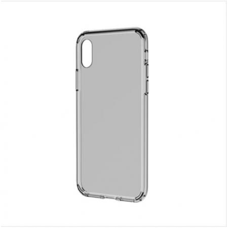 Двухкомпонентный TPU-PC чехол накладка Rock Pure Pro для iPhone X/XS - прозрачный