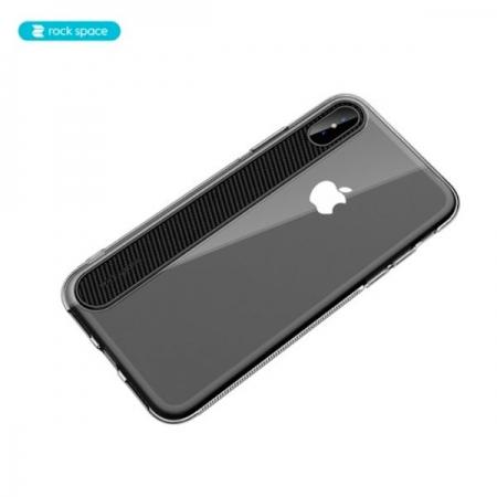 Чехол накладка Rock Space Ace для iPhone X/XS - прозрачный