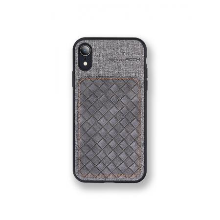 Чехол накладка Rock Origin Series для Apple iPhone XR, серый