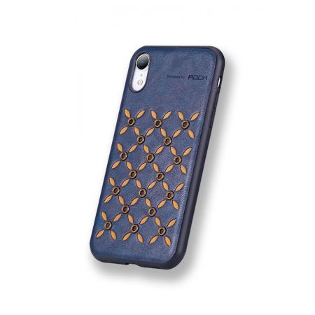 Чехол накладка Rock Origin Series для Apple iPhone XR, темно-синий