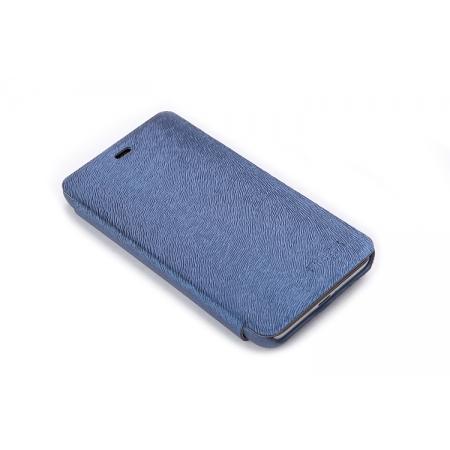 Чехол ROCK Side Flip для Blackberry Z10 - темно-синий