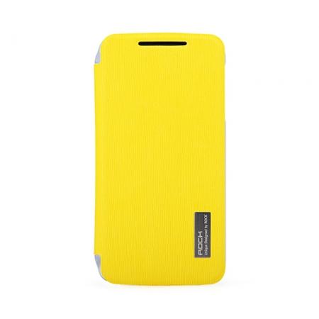 Чехол Rock Elegant Series для Lenovo S820 - лимонный