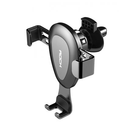 Автомобильный держатель для смартфонов в дефлектор воздуховода Universal Gravity Air Vent(Ball Joint) - серый