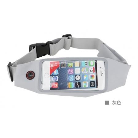 Чехол сумка на пояс для фитнеса Rock Universal Running Belt - серый