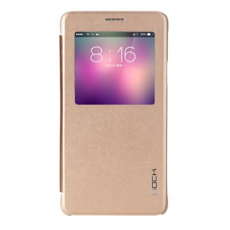 Чехол Rock Uni Series для Samsung Galaxy Note 4 - золотистый