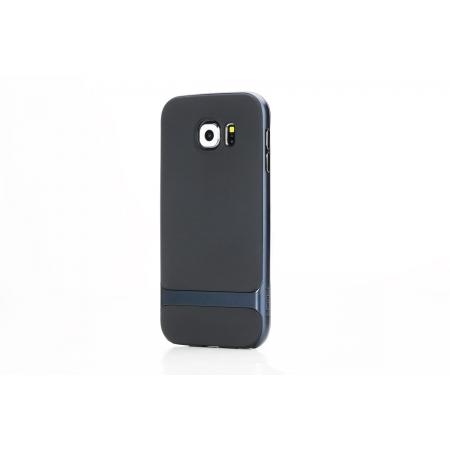 Силиконовый чехол Rock Royce Series для Samsung Galaxy S6 - темно-синий
