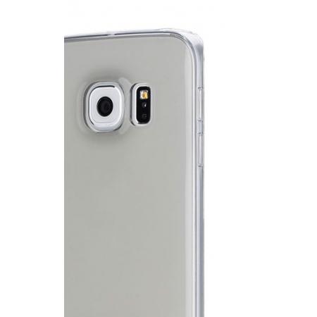 Силиконовый чехол Rock Slim Jacket для Samsung Galaxy S6 edge + - прозрачно-черный