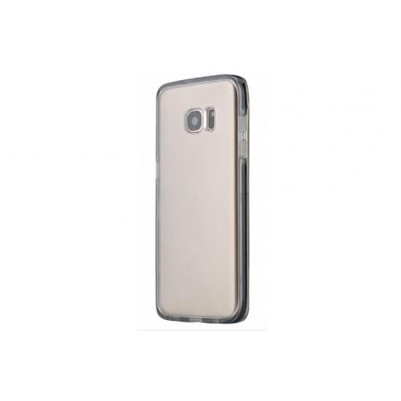Противоударный чехол Rock Guard Series для Samsung Galaxy S7 edge - прозрачный чёрный