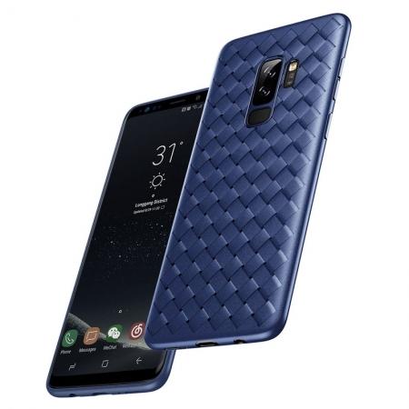 Чехол накладка Rock protective Case для Samsung Galaxy S9+ - синий