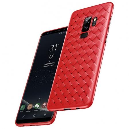 Чехол накладка Rock protective Case для Samsung Galaxy S9+ - красный