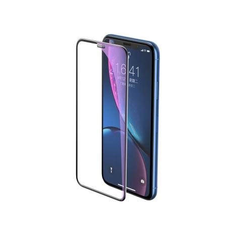 Стекло защитное на экран пылезащищенное 3D New Curved Honeycomb Dust-proof Screen Protector для iPhone 11 Pro/X/Xs