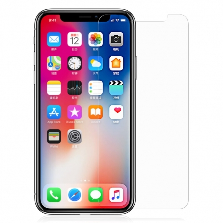 Стекло защитное на экран HD Tempered Glass Screen Protector 2.5D 0.26 мм для iPhone X/XS