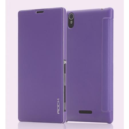 Чехол ROCK Belief Series для Sony Xperia T3 - фиолетовый