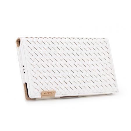Чехол ROCK Weaver Series  для Sony Xperia Z Ultra - белый