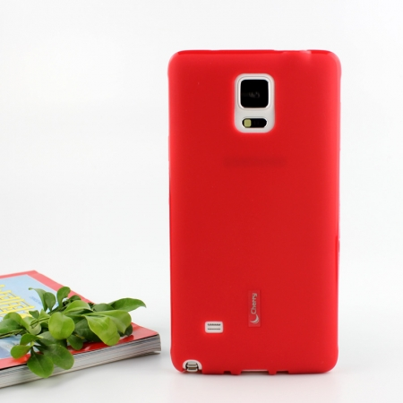 Силиконовый чехол Cherry для Xiaomi Redmi Note 4/4X - красный
