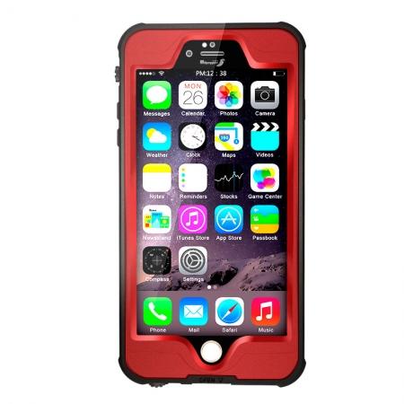 """Водонепроницаемый, противоударный чехол Redpepper Dot-Pro для iPhone 6/6S (4.7"""") - красный"""