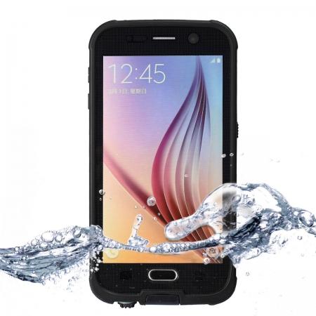 Водонепроницаемый, противоударный чехол Redpepper Waterproof Case XLF для Samsung Galaxy S6 - чёрный