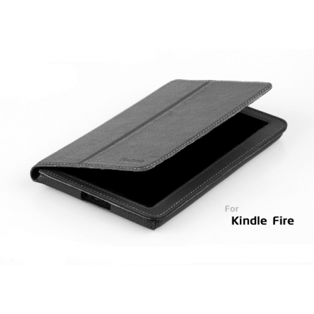 Кожаный чехол Yoobao Leather Case для Amazon Kindle Fire - чёрный