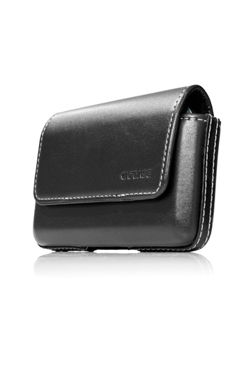 Чехол-сумочка поясной CAPDASE Klip Holster 117A - чёрный.