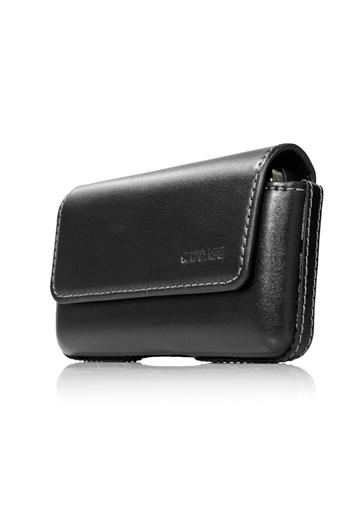 Чехол-сумочка поясной CAPDASE Klip Holster 119A - чёрный.