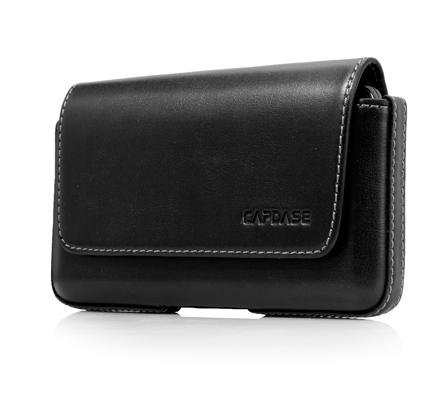 Чехол-сумочка поясной CAPDASE Klip Holster 126A - чёрный.
