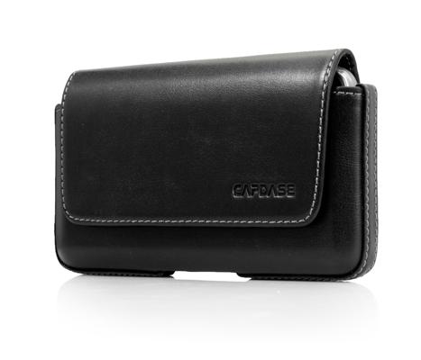 Чехол-сумочка поясной CAPDASE Klip Holster 129A - чёрный.