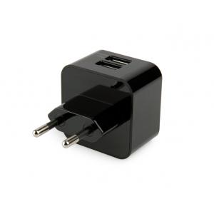 Сетевое зарядное устройство CAPDASE Dual USB Power Adapter Cube K2 с 2-мя USB выходами для планшетов и смартофонов
