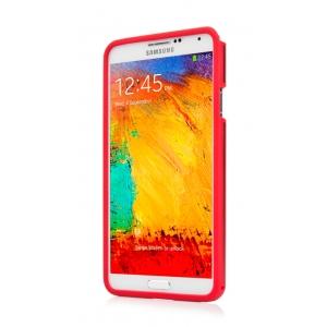 Металлический чехол CAPDASE Alumor Jacket для Samsung Galaxy Note 3 SM-N900 - красный