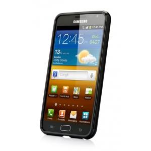 Силиконовый чехол Capdase Soft Jacket для Samsung Galaxy Note GT-N7000 / Note LTE GT-N7005 - тёмно-чёрный
