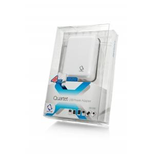 Сетевое зарядное устройство с 4-мя USB выходами для iPod, iPhone и др. - CAPDASE Quartet USB Power Adapter
