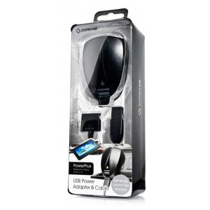 """Сетевое зарядное устройство с USB выходом для Samsung Galaxy Tab 7"""", 10,1"""" - CAPDASE USB Power Adapter Powerplus"""