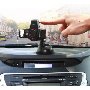 Автомобильный держатель для смартфонов и навигаторов на торпеду Kropsson NFC