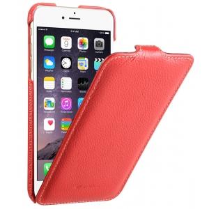"""Кожаный чехол Melkco для Apple iPhone 6/6S (4.7"""") - Jacka Type - красный"""